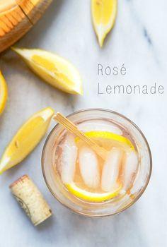 Rosé Lemonade Cocktail
