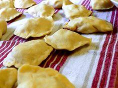 Pierogi  good ol' Polish food.  Just like my grandma use to make