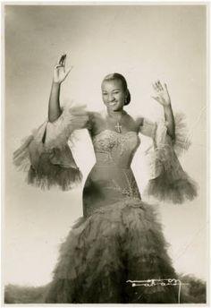 Celia Cruz, Cuban singer :: Cuban Photograph Collection