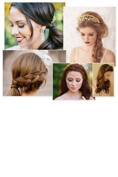 Mariage : 30 coiffures qui changent du chignon Wedding Preparation, Mermaid Hair, Marie, Dreadlocks, Hair Styles, Fashion, Bohemian Braids, Tuto Coiffure, Pony Tails