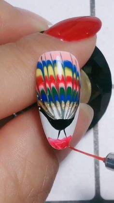 Simple nails art design video Tutorials Compilation Part 111 - The most beautiful nail designs Cat Nail Designs, Nail Art Designs Videos, Nail Design Video, Nail Art Videos, Simple Nail Art Designs, Beautiful Nail Designs, Easy Nail Art, Nails Design, Cat Nails