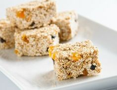 Dulce de Alegria (Amaranth bars)   #add 1/4 cup popped quinoa to up the protein factor. These delicious snacks for little fingers, they will never miss those sugar packed snacks from the super market!