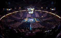 Where we live, breathe, and die by the Thunder. Thunder UP! Nba Arenas, Chesapeake Energy Arena, Oklahoma City Thunder, Nba Basketball, Thunder Thunder, Finals, Breathe, Live, Final Exams