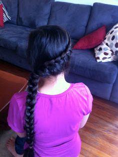 Mother Hair Repunzel Braid