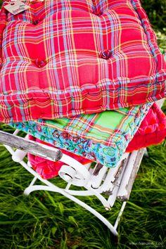 "orange and pink rooms   Pink / Orange Dots"" Großes Sitzkissen Picnic Blanket, Outdoor Blanket, Pink Room, Orange, Sewing Ideas, Inspiration, Chair Pads, Biblical Inspiration, Inspirational"