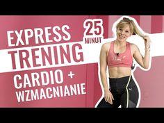 (8) EXPRESS TRENING - szybki trening, kiedy nie masz czasu | Codziennie Fit - YouTube Hiit Workout Videos, Fitness Workouts, Workout Hiit, Fitness Herausforderungen, Ab Workout Machines, 20 Minute Workout, Sport Fitness, Workout Challenge, At Home Workouts