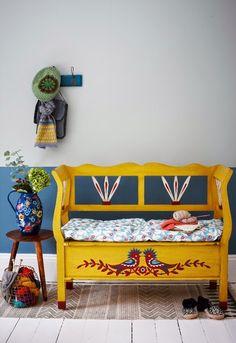 Pembe Yastık / Ev Dekorasyonu : İçimiz Açılsın..