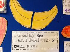 Chalk Talk: A Kindergarten Blog: fractions