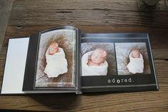 newborn photos shutterfly book