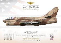 """A-7E """"Corsair II"""" 400/AC VA-27 IK-92"""