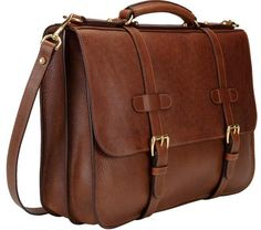 Lotuff Historical English Leather Briefcase