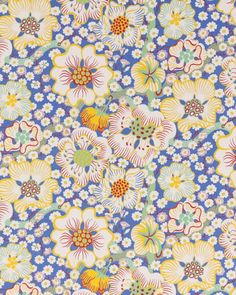 Josef Frank Wallpaper Eldblomma (1940's) from Svenskt Tenn