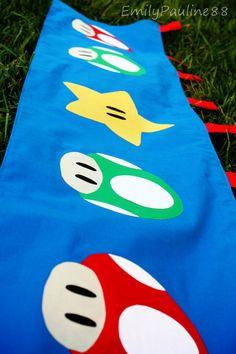 Mario Themed Curtain :)