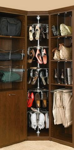 Buy the Rev-A-Shelf Chrome Direct. Shop for the Rev-A-Shelf Chrome 5 Shelf Women's Lazy Shoe-Zen Organizer with Closet Shaft and save.