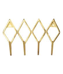 Metal Hanger | Gold-colored | Home | H&M US