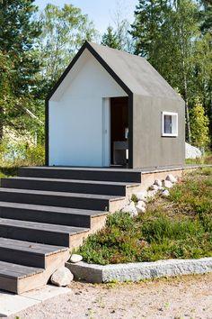 luona pihasaunat huvimaja leikkim kki parvella a small houses pinterest cabanes. Black Bedroom Furniture Sets. Home Design Ideas