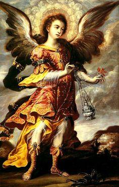 Juan Correa...Archangel Sealtiel.  Banamex.