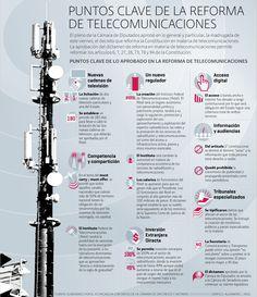 Puntos clave de la reforma de telecomunicaciones | El Economista