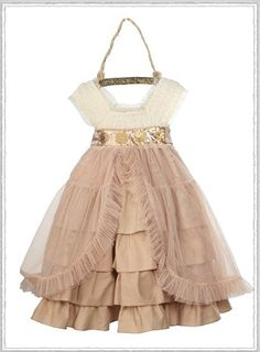 i have no idea where my sweet girl would wear this dress...but i feel like she needs it;)