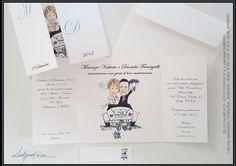 Risultati immagini per partecipazioni nozze simpatiche