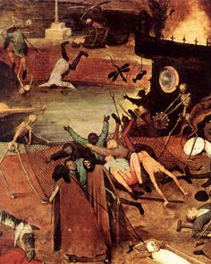 Pieter Bruegel the Elder - The Triumph of Death - detail (c. 1562)