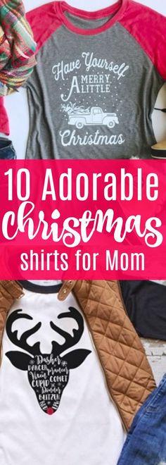 Oh my gosh, I am LOVING these Christmas shirts! Perfect shirt to wear to Christmas parties! #Christmas #womensfashion #womenswear