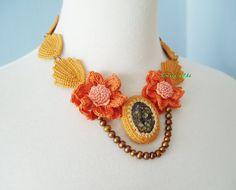 Irish Crochet Lace Jewelry