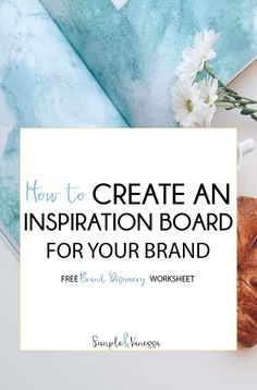 Creating an inspiration board is one of the BEST parts of branding. It really allows you to get creative and think outside of the box, and figure out that quirky, sultry or downright fun personality that you envision for your brand.