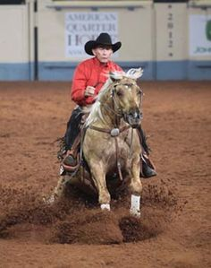 """""""Cow Horse Training Strategies Part 2"""" Article by America's Horse Daily (Doug Williamson on High Brow Shiner)"""