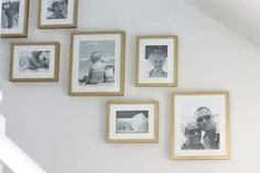 picture frames on the wall
