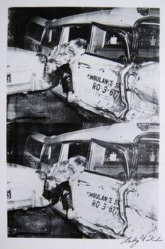 Car Crash by Andy Warhol