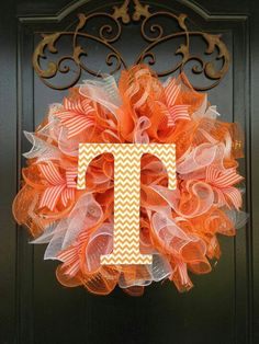 Cute TN ribbon wreath