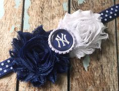 New York YANKEES NY MLB Baseball shabby by ASerendipityBowtique