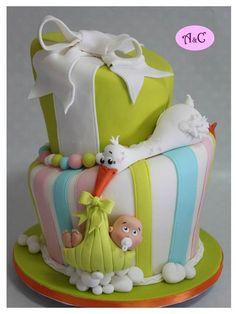 I´m coming - by Com Amor & Carinho @ CakesDecor.com - cake decorating website