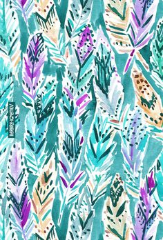 FEATHER DANCE Barbarian print #feathers
