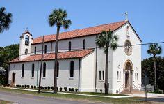 St. Patrick's Catholic Church in Apalachicola, Florida.  by Alabama Geographer, via Flickr