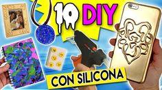10 DIY's con SILICONA!! En el #tutorial de hoy os enseño DIEZ maneras diferentes de usar la silicona (que no sea para pegar cosas jajaja!) Ya veréis qué chulas ya sabéis que uso la pistola de silicona para prácticamente todos mis vídeos jaja! Espero que os guste muuuucho y pongáis en práctica alguna de las ideas que os doy! Podéis verlo YA en nuestro canal de #YouTube #hoynohaycole #DIY #diylover #crafts #manualidadeshoynohaycole #silicona #silicon #lifehacks #fimominiatures #art #fakefood…
