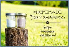 A homemade dry shampoo recipe that's simple, inexpensive, all-natural, and wonderfully effective! What else could you ask for in a homemade beauty product?! Homemade Dry Shampoo, Homemade Cosmetics, Homemade Beauty Products, Beauty Supply, Beauty Recipe, Diy Hairstyles, Diy Beauty, Beauty Stuff, Beauty Tips