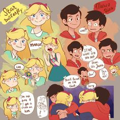 Starco Marco and Star Sketching Karate Boy, Power Of Evil, Starco Comic, Star Y Marco, Best Cartoons Ever, Princess Photo, Star Wars, Title Card, Pixar Movies