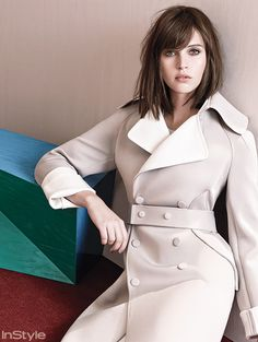 Pale Fire: Felicity Jones Proves That Muted Doesn't Have to Mean Meek  #InStyle