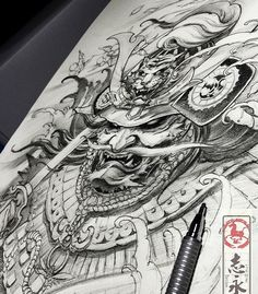 #samuraitattoo#Nirvana#tattoo#asiantattoo#europeantattoo#zhiyongtattoo #chinesetattoo #traditionaltattoo#orientaltattoo#japanesetattoo#