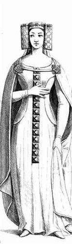 13th century english lady