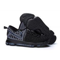 Best Nike Zoom KD 9 - Men's Black Basketball Shoes - ibasketballwear.com