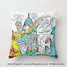 Love Park High Definition Philadelphia Map by BrandiFitzgerald, $34.99