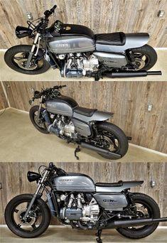 1978 Honda Goldwing X Custom cafe racer Cafe Racer Honda, Cafe Racer Bikes, Cafe Racer Build, Cafe Racer Motorcycle, Motorcycle Design, Cafe Racers, Cafe Racer For Sale, Custom Cafe Racer, Bobber Bikes