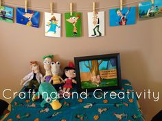 Crafting and Creativity: My Son's 7th Birthday Party- Phineas and Ferb Theme!