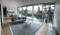 #lakkakivitalot #kivitalo #olohuone #interior #design #house #livingroom Windows, Rugs, House, Design, Home Decor, Interiors, Carpets, Haus, Interior Design