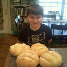 Honey Yeast Bread (John Bread)