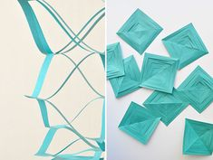 Springy Paper Garland DIY | Oh Happy Day!