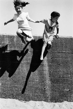 The Leap of Faith. © Martine Franck